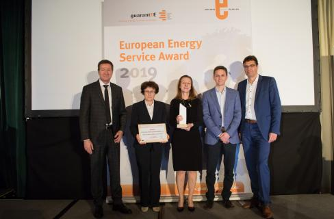 Resalta City of Ljubljana European Energy Service Award